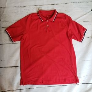 Lands End Large red polo